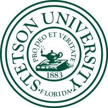Stetson_Univ_Seal Sarasota Crew - Plant Spring Invitational youth rowing, rowing, masters, masters rowing, middle school, middle school rowing, high school rowing, high school, elementary school rowing, rowing sarasota, pine view, riverview, rowing