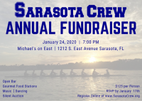 Sarasota Crew Annual Fundraiser - Reserved Table of 8